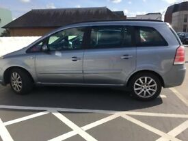 Vauxhall Zafira 1.6L Club,7 seater with MOT and heated seats