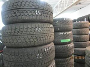 225/55R17 SET OF 4 USED NANKING WINTER TIRES