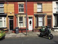Birkenhead. Wycherley Rd Tranmere. 2 Bedroom terraced House.