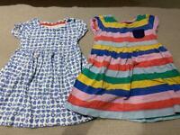 2 x Boden Summer Dresses 3-4 yrs