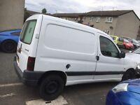 Peugeot partner good van drives nice