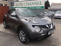 Nissan Juke 1.6 Tekna XTRONIC CVT 5dr£10,950 p/x welcome 1 YEAR FREE WARRANTY