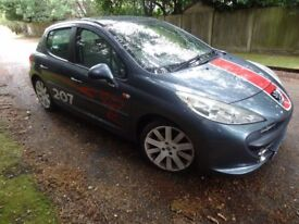 PEUGEOT 207 VTI SPORT NOT FORD FIESTA VAUXHALL CORSA ASTRA VW GOLF AUDI A3 RENAULT CLIO FIAT PUNTO