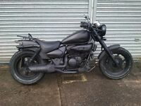2009 HYOSUNG GV 125 AQUILA RAT CUSTOM CHOPPER /BOBBER
