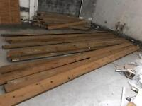 9x2 Timber Joists 17ft