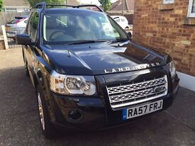 Land Rover Freelander 2 HSE (Highest spec) 57 plate, Automatic, Black, Alpaca Leather Interior