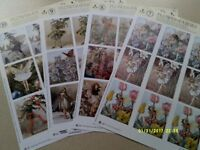 CRAFT / CARD MAKING FLOWER FAIRIES DECOUPAGE