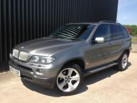 2005 BMW X5 3.0 d Sport 5dr Service History, Screens In Headrests Diesel, Sat Nav, Finance Available