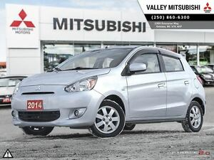 2014 Mitsubishi Mirage SE - FWD, Heated Seats, Air Conditioning