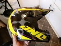Ono motocross helmet xxl
