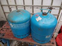 2 x camping gas bottle 907