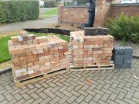 For sale approx 600 reclaimed bricks.