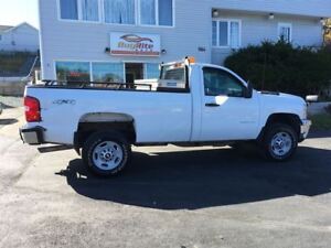 2012 Chevrolet SILVERADO 2500HD WT HD WITH PLOW