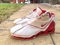 Nike 305078-161 Shox VC Vince Carter Athletic Basketball Sneakers Men's UK10