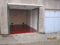 Single Lockup Garage with Electricity. Central location off Leith Walk.