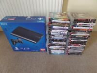 Playstation 3 500gb super slim with 50 Games £150