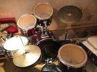 Drum kit - Full Rock Set Up