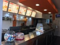 Great Business Opportunity - Fish and Chip Shop for sale in busy location.