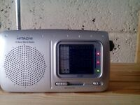 Hitachi Worldband Radio.