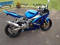 Kawasaki ZX6R 2003 £2200