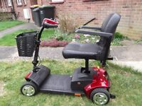 Wonderfull ladies mobility scooter withe great batteries and charger