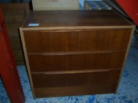 Brown chest of drawers at Cambridge Re-Use (cambridge reuse)