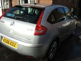 £850 Citreon C4 Hatchback 1.6 2006 plate, Silver, leather interior, excellent condition, tax and MOT