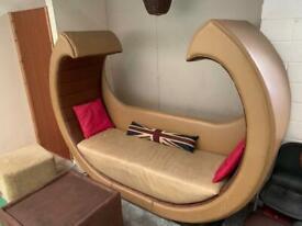 Love boat sofa Venice Gondola