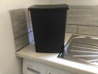 Brabantia black 10L built-in bin