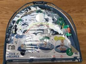 Mothercare Space Dreamer playmat & arch