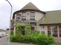 The Doo'Cot, 731 Ferry Road, Edinburgh. Live-in Joint Pub Management Couple