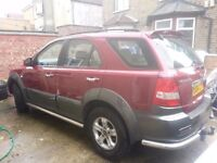 2004 kia sorento diesel 2.5 manual leahter heated seats