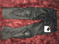 Aprilia leather trousers