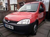 Vauxhall Combo 1700 CDTI 16V 2006 NO VAT!
