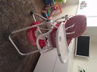 Chicco Pocket Lunch Highchair - Excellent Condition hardly used