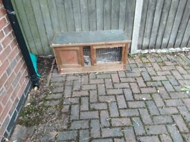 used rabbit hutch in good condition was top quality when new