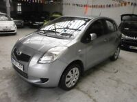 2007 TOYOTA YARIS 1.0 VVT T3 5DOOR, SERVICE HISTORY, HPI CLEAR, CLEAN CAR, DRIVES LIKE NEW