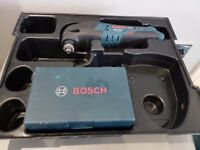 BOSCH 10.8v GOP multitool LI-ION + lboxx insert and accessories box