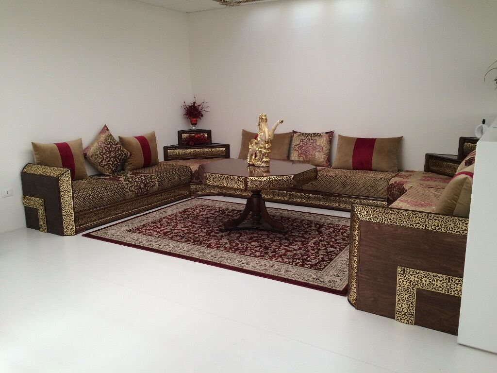 Brand New Moroccan Sofas For In Seven Kings 270x270cm Including Corner Storage Unit