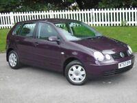 2003 (53) Volkswagen Polo 1.4 Twist | AUTOMATIC |FULL HISTORY | LONG MOT | HPI CLEAR | 2 KEYS