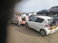 24 Hour Vehicle Recovery, Tamworth, Birmingham, Nuneaton, Burton-on-Trent, Atherstone, Lichfield