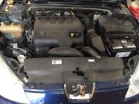 Peugeot 407 2.0l hid 16v 136bhp engine with 6 speed manual gearbox complete