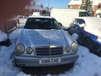 MERCEDES E320*AUTOMATIC*12 MONTHS MOT*LEATHER TRIM*1998