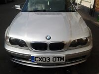 Bmw 318 ci Convertible 2.0 litre Swap or sell for E class Mercedes.