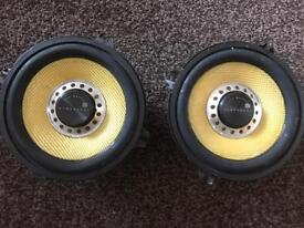 Vibe black air 5.25 inch speakers - 270 watts