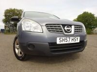 57 NISSAN QUASHQAI VISIA 4X4 1.6,MOT JULY 019,1 OWNER FROM NEW,2 KEYS,FULL HISTORY,STUNNING EXAMPLE
