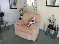 G Plan 3 seater settee and chair excellent condition. Buyer to collect