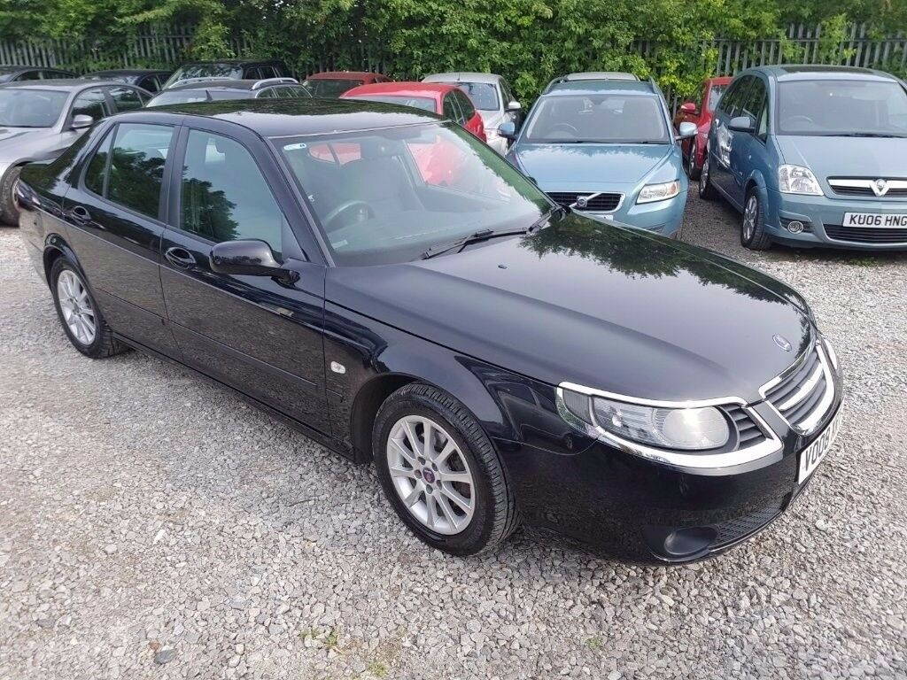 Saab 9-5 1.9 TiD Linear SE Saloon, FSH. HPI CLEAR. 1 FORMER KEEPER. CRUISE CONTROL. P/X WELCOME