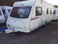 2010 Elddis Xplore 544 4 Berth Fixed Bed Lightweight Caravan