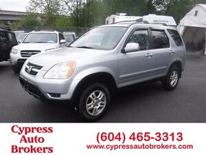 2002 Honda CR-V EXL (Leather & Sunroof)